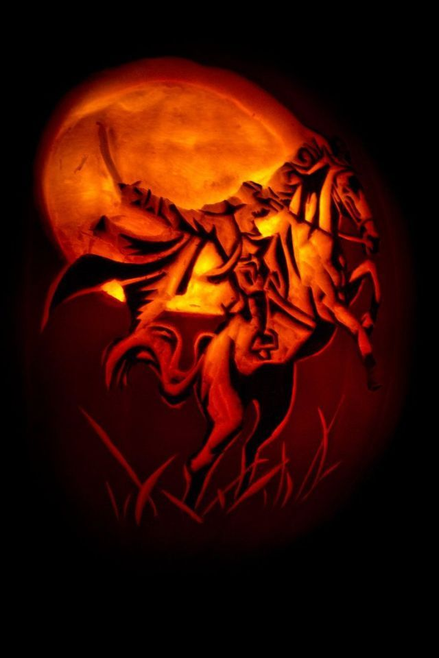26 Jack O Lanterns Inspired By Your Favorite Books Pumpkin Carving Jack O Headless Horseman