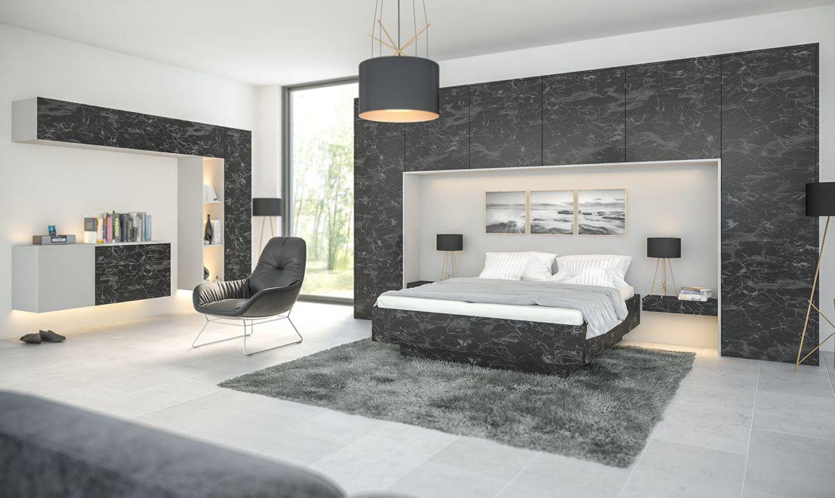 zurfiz-oriental-black-supermatt-light-grey | Modern Hinged ...