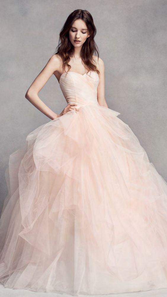 0dc5e36ca08a Wedding Dress Inspiration | Wedding Dresses | Non white wedding ...