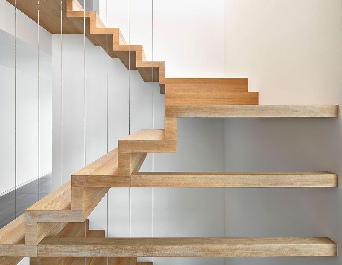 Exklusive Faltwerktreppe | Modernes reduziertes Design mit scheinbar ...