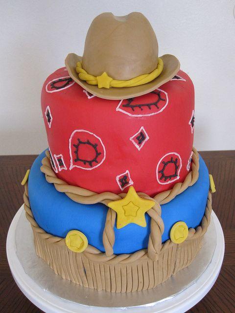 Cowgirl Cake by mscakeslv, via Flickr