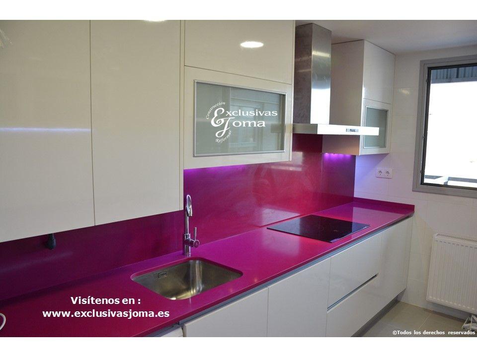 Forrar muebles cocina color gris como tendencia en - Forrar muebles cocina ...