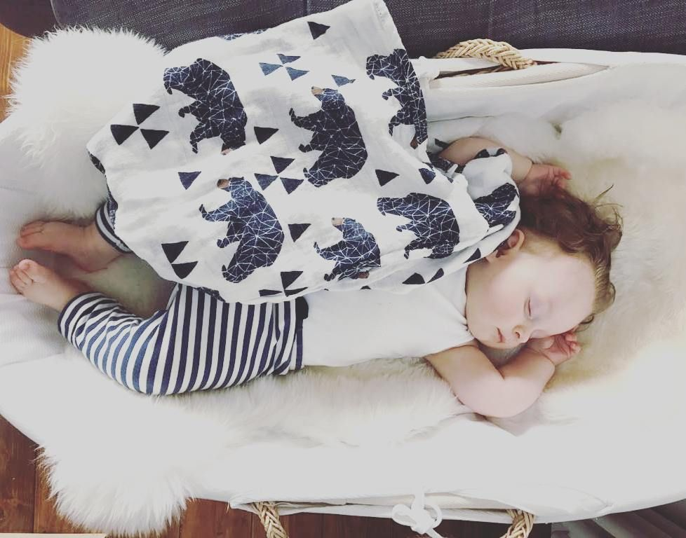 For the love of #muslins #swaddleblanket #babiesofinstagram #trending thank you @charlottewwindsor for the gorge pic!! #miilk_shop