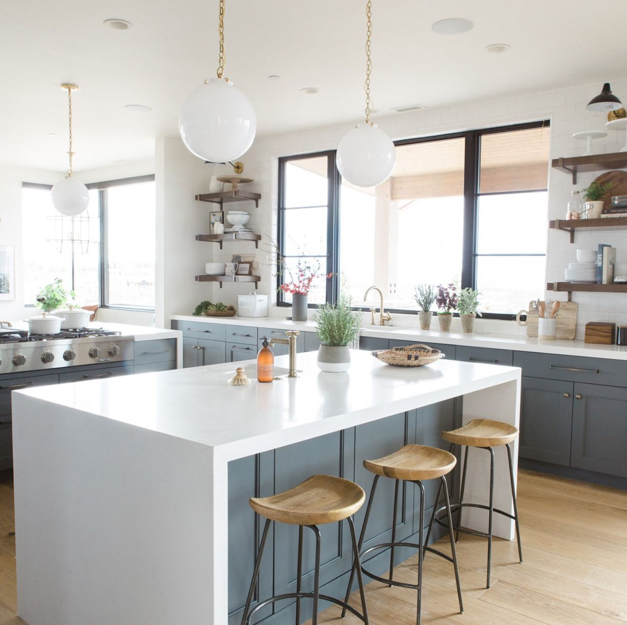 Great Kitchen Layout  Via Studiomcgee