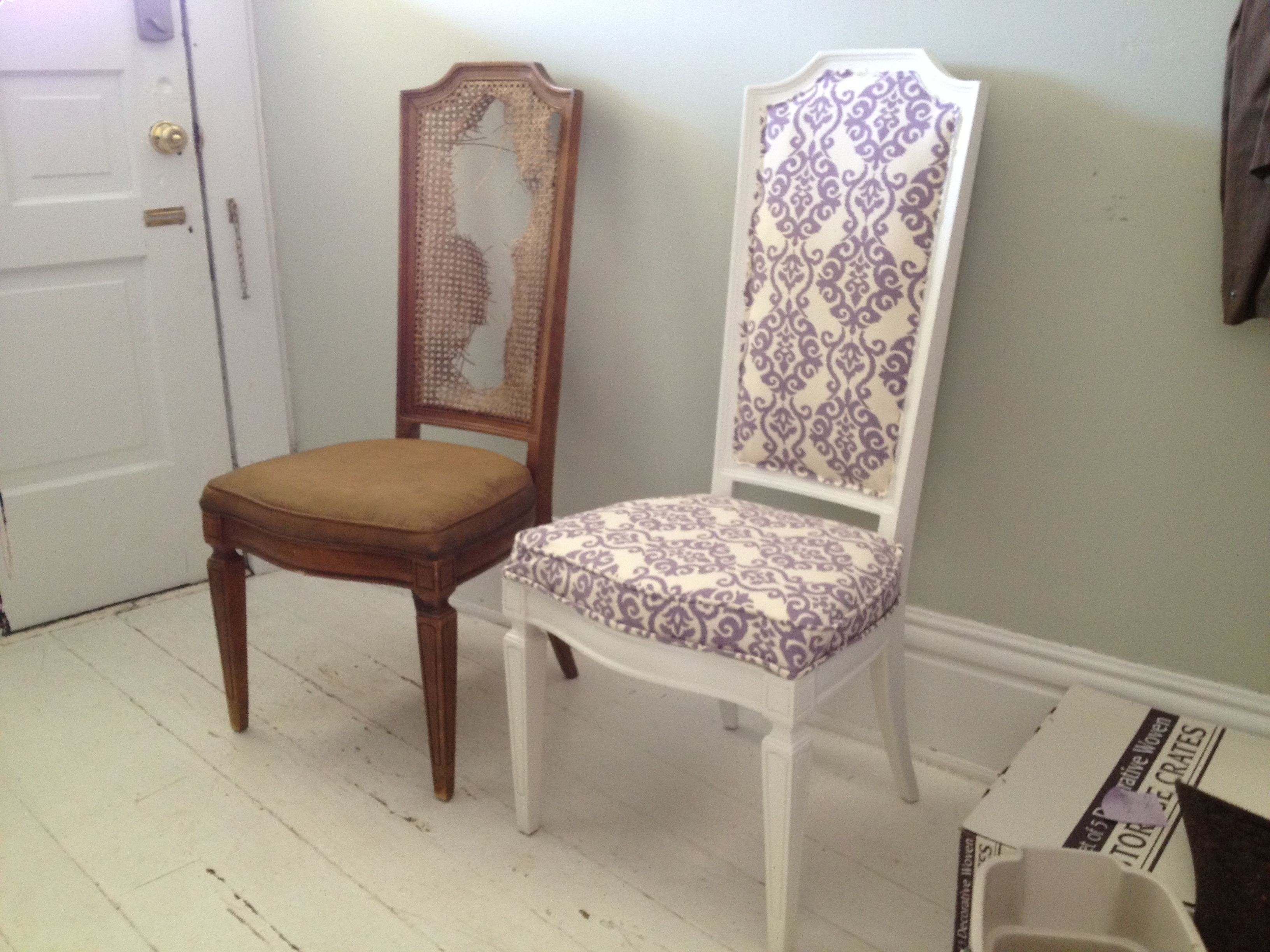 Diydiningchairreupholsteringcrafthubshowtoreupholstera Magnificent Upholster Dining Room Chairs Decorating Design