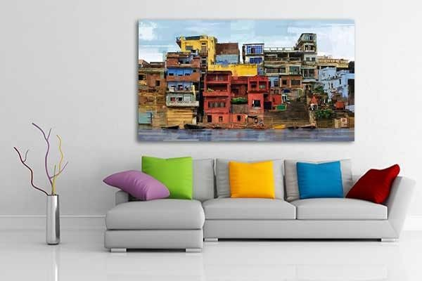 tableau xxl favelas tableaux home made pinterest tableau d coration paysage contemporain. Black Bedroom Furniture Sets. Home Design Ideas