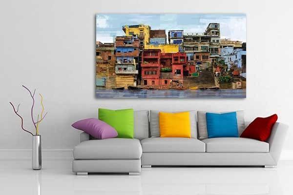 Tableau D 233 Coration Favelas