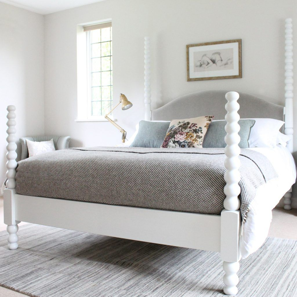Image Result For White Four Poster Bed