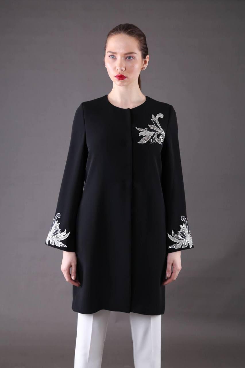 Desen Islemeli Kap Kadin Giyim Giyim Elbiseler