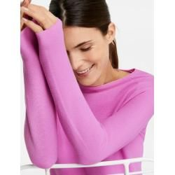 Photo of Pullover aus reiner Baumwolle Pink Gerry Weber