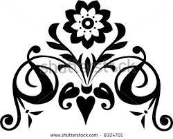Resultado de imagem para flower black and white drawing ...