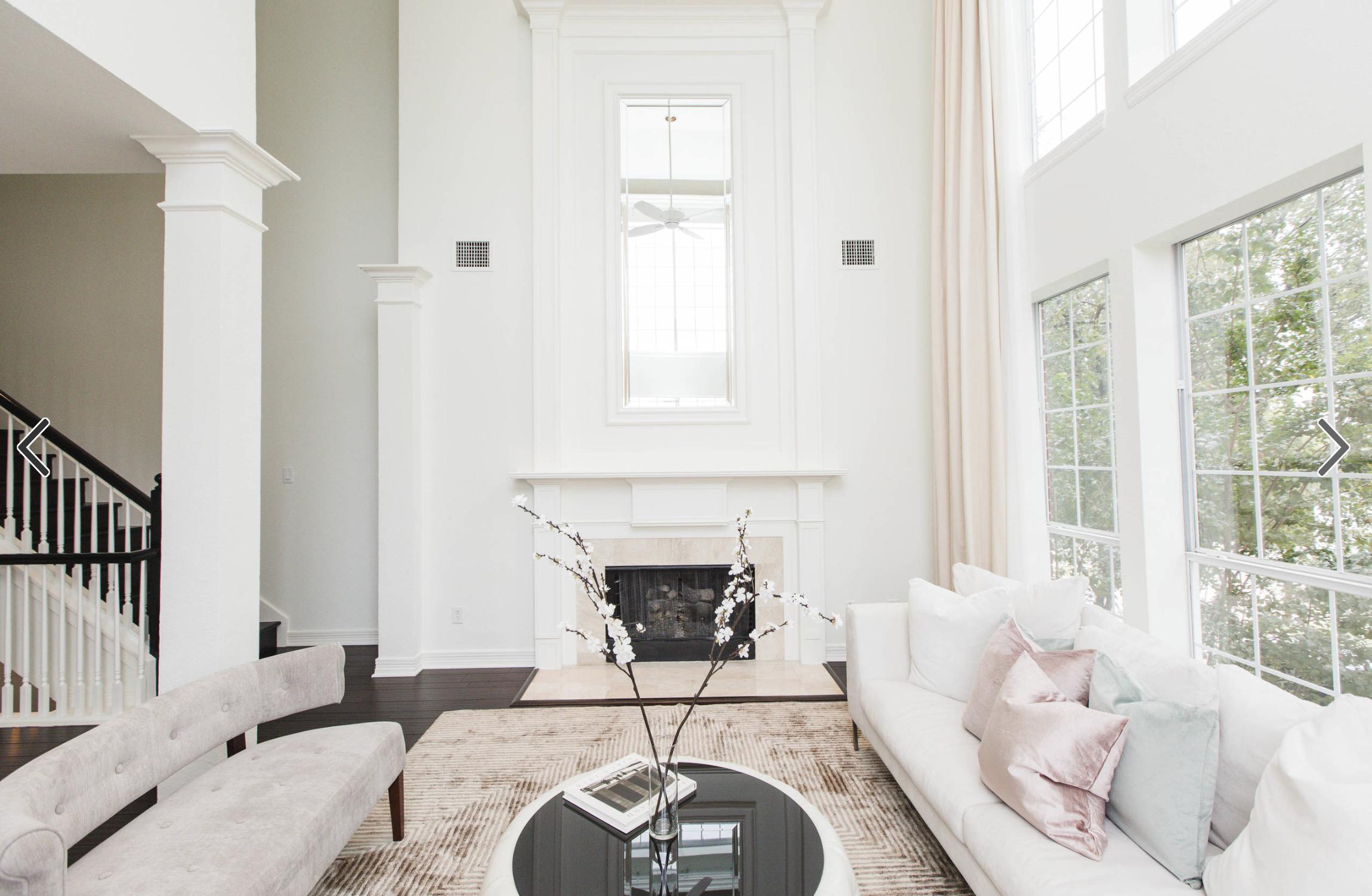 Contemporary-Chic Living Space #livingroom #chic #urbanologydesigns ...