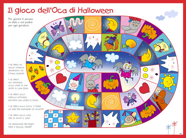 Gioco Delloca Di Halloween Motricità Prassie Giochi Halloween