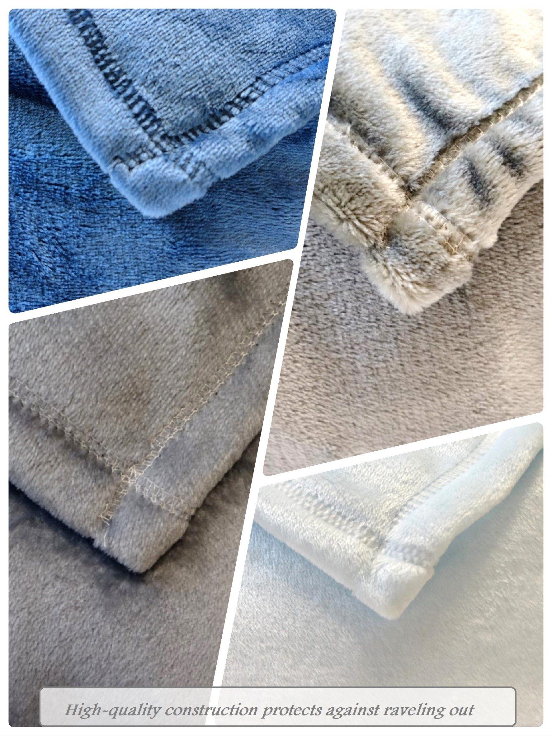 Flannel fleece blanket  Super Soft Flannel Fleece Luxury Microfiber Cozy Plush Velvet Fuzzy