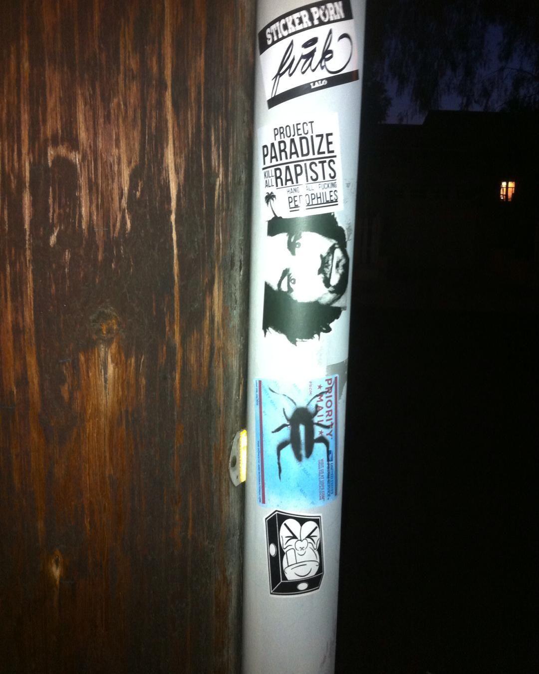 Charlie. #slaps #stickervandal #stickers #streetart #graff #stickerporn by forthemind