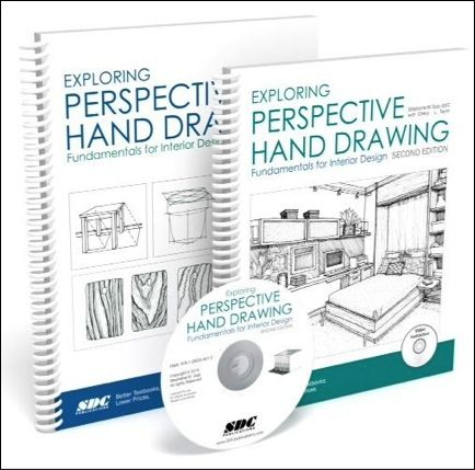 Delightful Exploring Perspective Hand Drawing, Fundamentals For Interior Design By  Stephanie M. Sipp Second Edition Is Now Available!