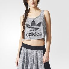 adidas - Shell Cropped Tank Top
