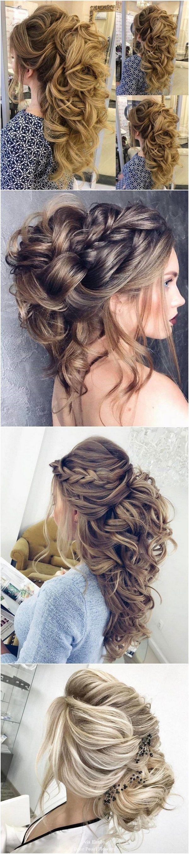 Elstile long wedding hairstyle inspiration weddings hair