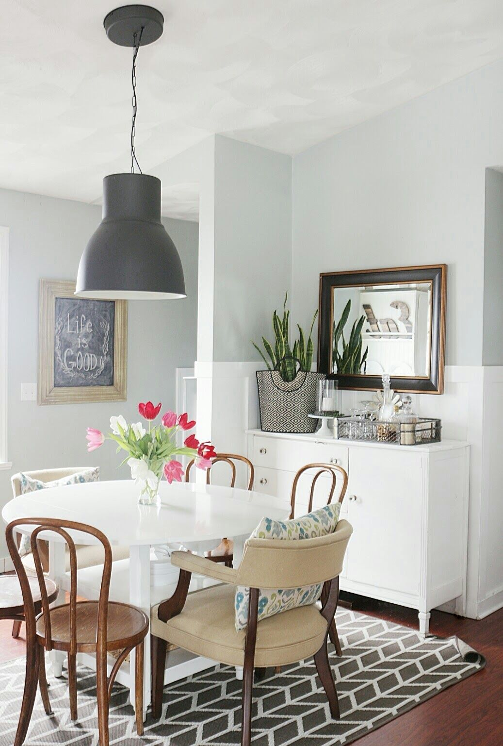 Through The Years: Kitchen/Dining Area Evolution   Dining ... on Living Room Wall Sconce Ideas For Dining Area id=86347