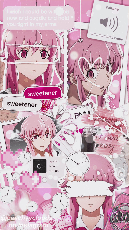Yuno Gasai Wallpaper Mirai Nikki Gasai Yuno Animes Wallpapers