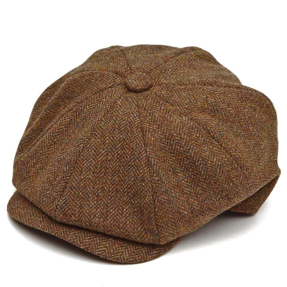 8 Piece Baker Boy Tweed Flat Cap Z524 Boys Flat Cap Flat Cap Cap