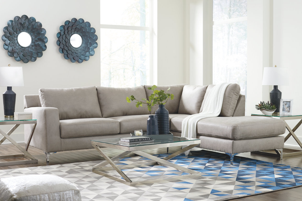 Ryler 2 Piece Sectional With Chaise Ashley Furniture Homestore