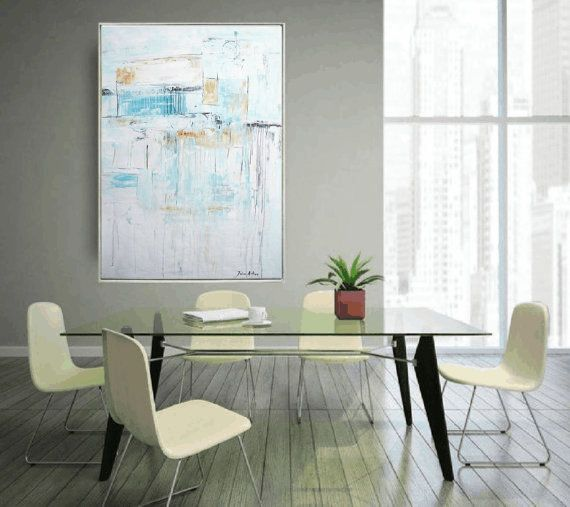 """extra large painting ORIGINAL 54"""" painting large painting abstract painting , from jolina anthony signet"""
