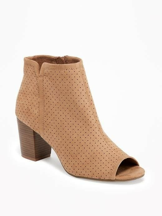 Peep toe ankle boots, Old navy boots