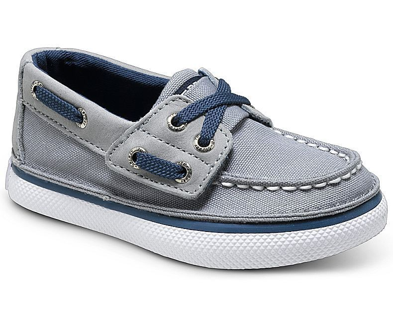 Sperry Top-Sider: Cruz JR Toddler/Little Kid (Grey/Navy)
