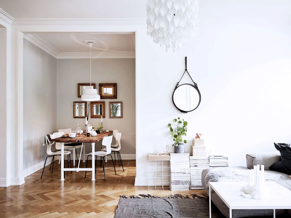 Tiny Spaces Sunday Sanctuary Small Interiors White Dining Awesome Dining Room Designs For Small Spaces Decorating Design