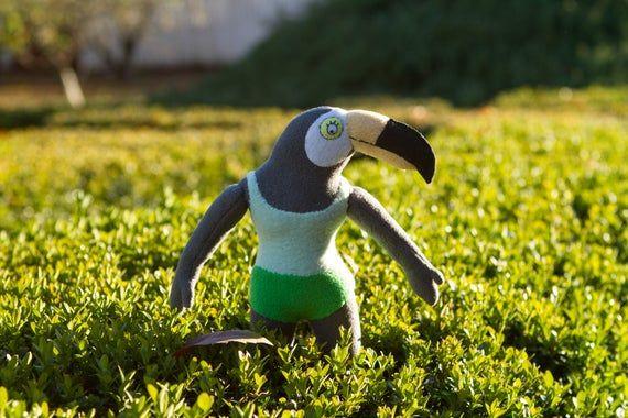Tuca Plush Inspired By Tuca And Bertie Handmade Soft Toy Tuca