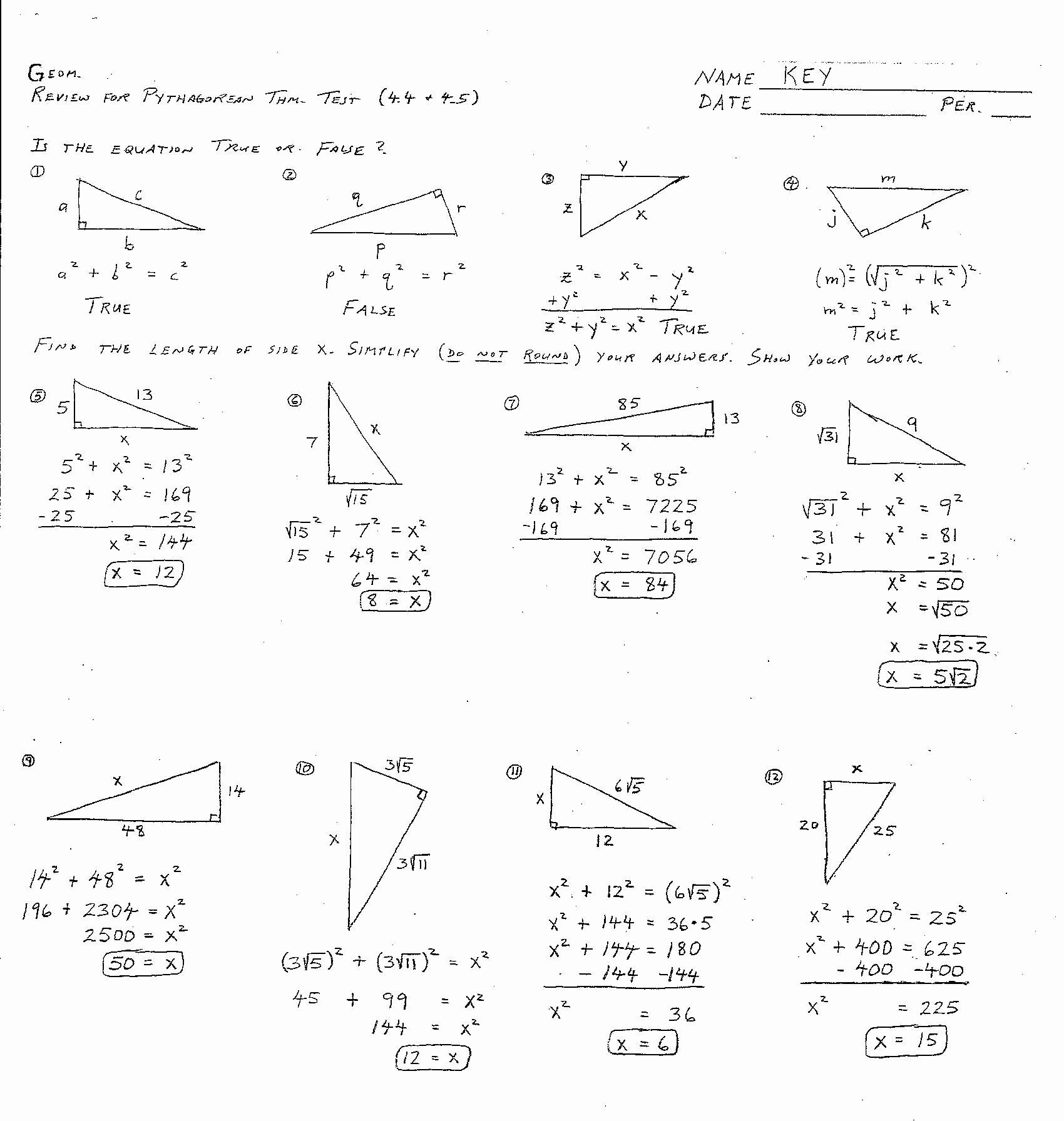 medium resolution of Identifying Congruent Triangles Worksheet   Printable Worksheets and  Activities for Teachers