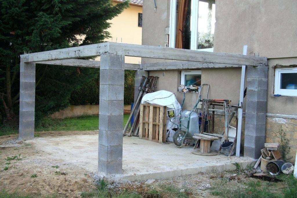 Construire Une Terrasse En Beton Sur Pilotis