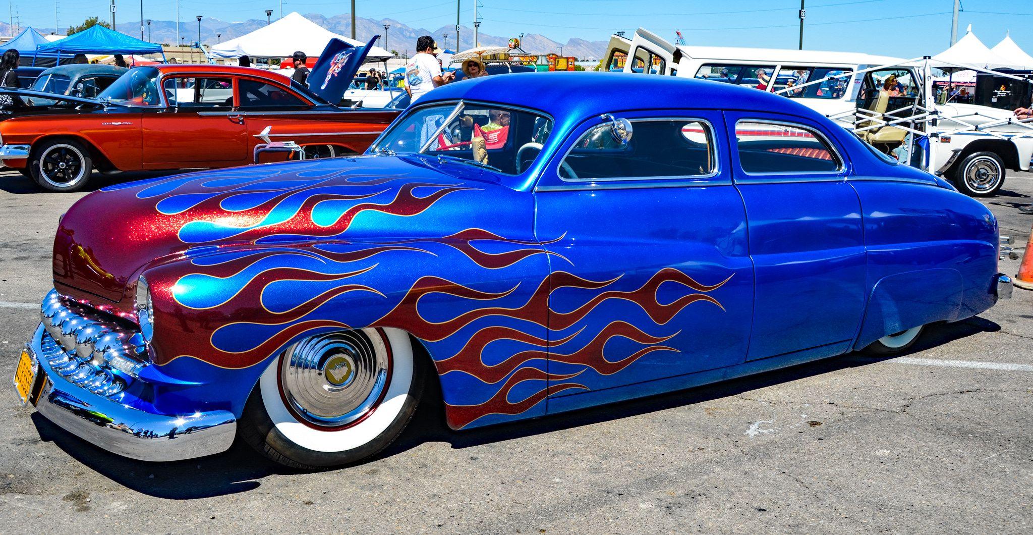 Viva Las Vegas Rockabilly 2018 Hot Rodder Car Show Viva