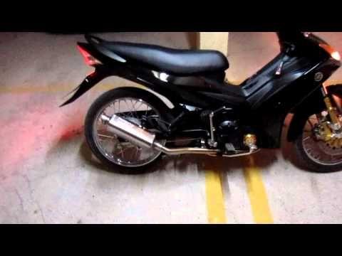 Crypton X With Protech Tri Oval Motorbike Helmet Motorcycle Helmets Muffler