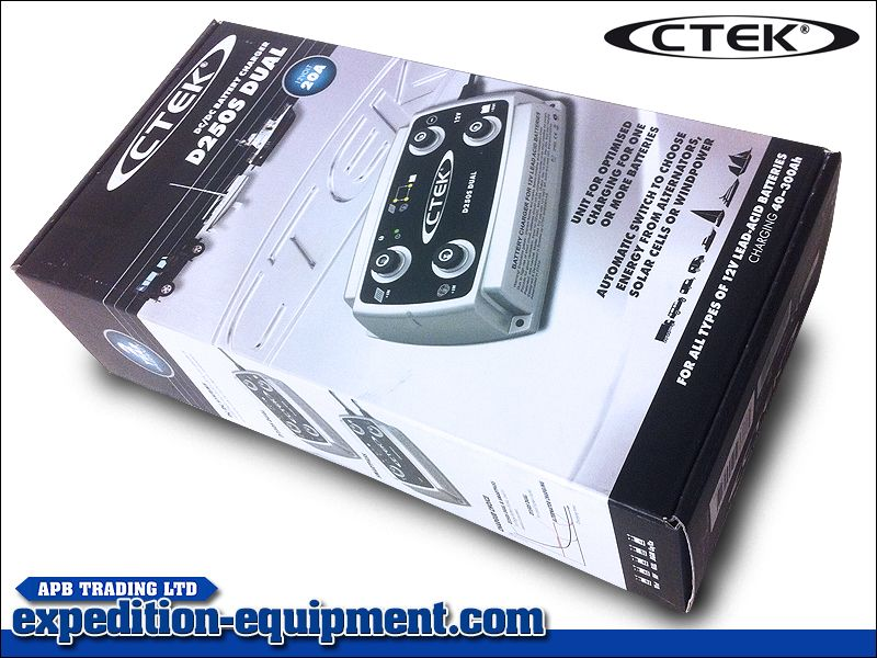 Ctek D250s Dual Charger Charger Dual Wind Power