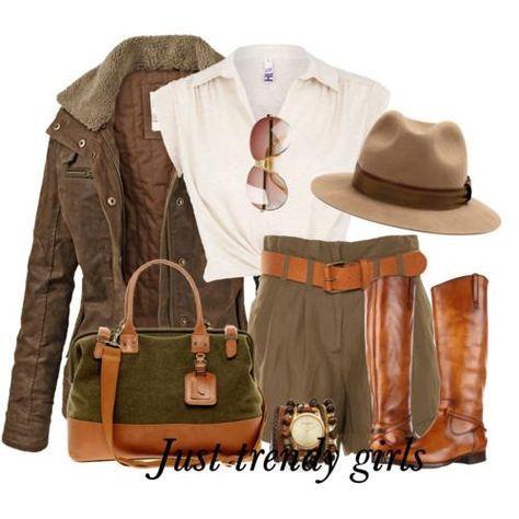 Safari style clothing | Just Trendy Girls