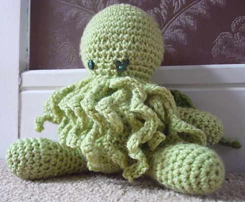 Ravelry Cuddly Cthulhu Pattern By Amber Of Cthulhu Crochet