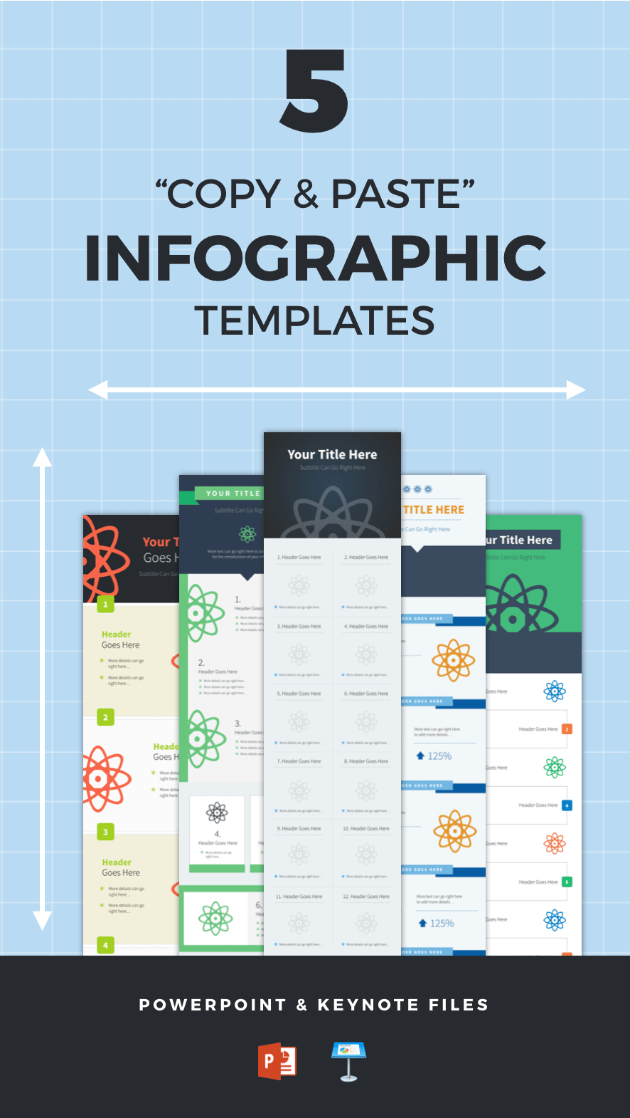 5 copy paste infographic templates available in powerpoint and 5 copy paste infographic templates available in powerpoint and keynote formats available right here toneelgroepblik Image collections