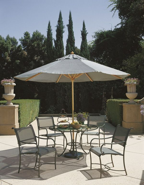 roma sling dining collection from brown jordan outdoorfurniture rh pinterest com brown jordan outdoor furniture warranty