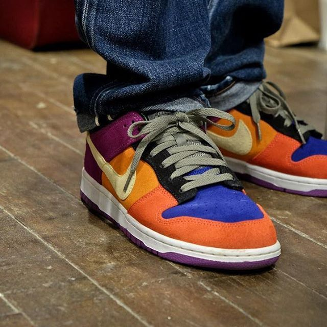 promo code 1d75b 644c8 The Viotech Dunks are true classics. Part of the Co. JP line exclusive to  Japan, these were the ultimate hypebeast shoes when they came out in 2001.