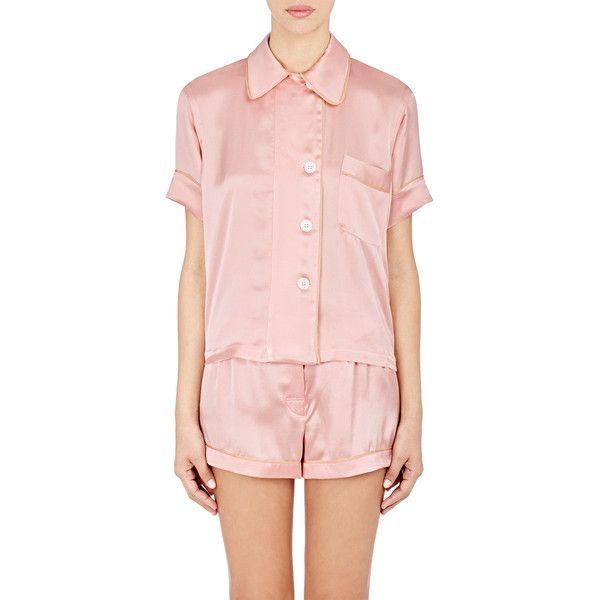 Araks Shelby Pajama Top ( 325) ❤ liked on Polyvore featuring intimates 104ae625b