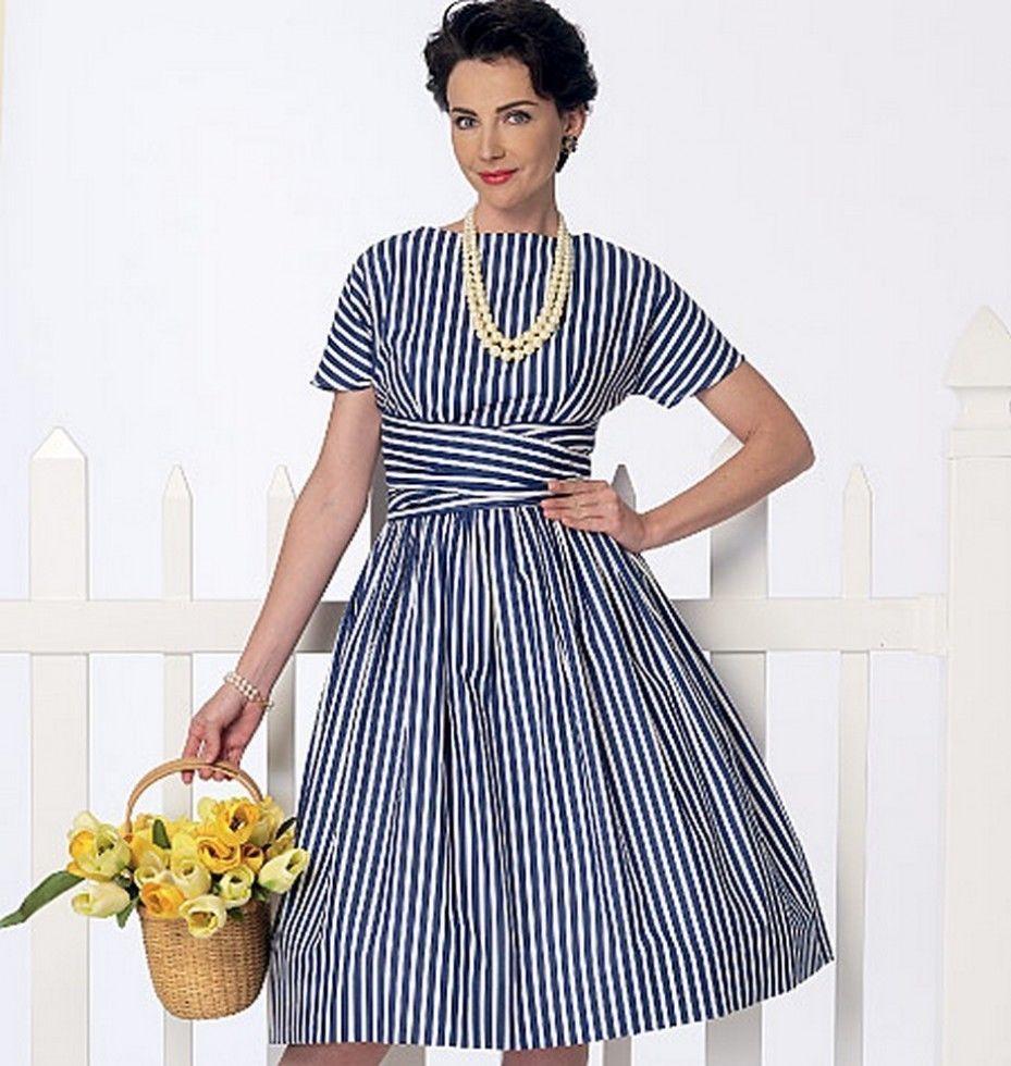 Free UK P&P - Butterick Ladies Easy Sewing Pattern 6318 Vintage ...