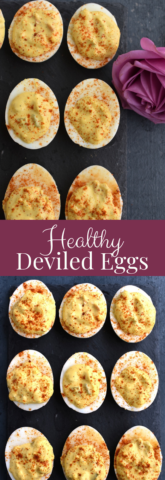 Healthy Deviled Eggs