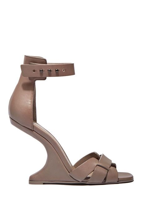 d32c49c580f5 Cyclops Cantilevered Heeled Sandals. Cyclops Cantilevered Heeled Sandals  Rick Owens ...