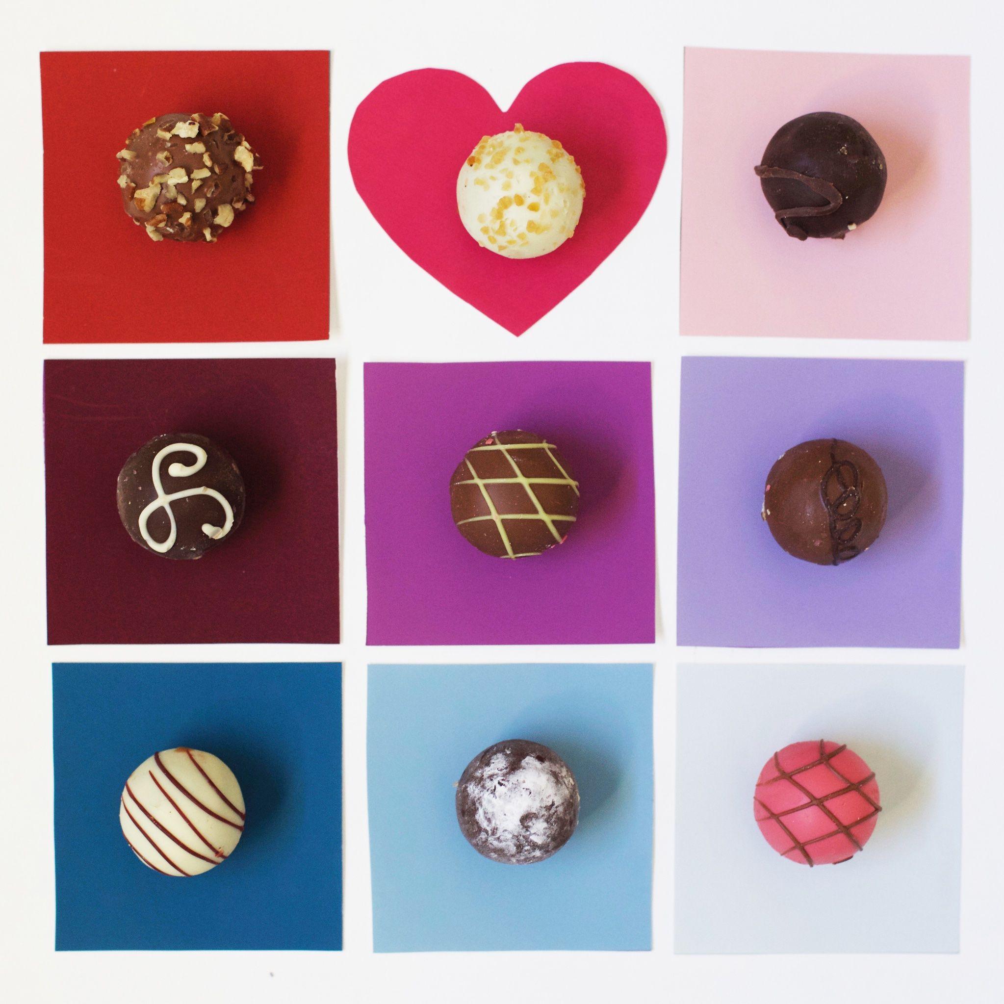 Chocolate Heaven. #color #cocoa #hearts