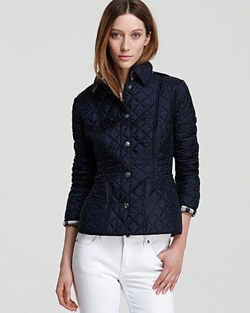 Burberry Brit Kencott Lightweight Quilt Jacket Women S Bloomingdale S Womens Quilted Jacket Lightweight Quilted Jacket Quilted Jacket