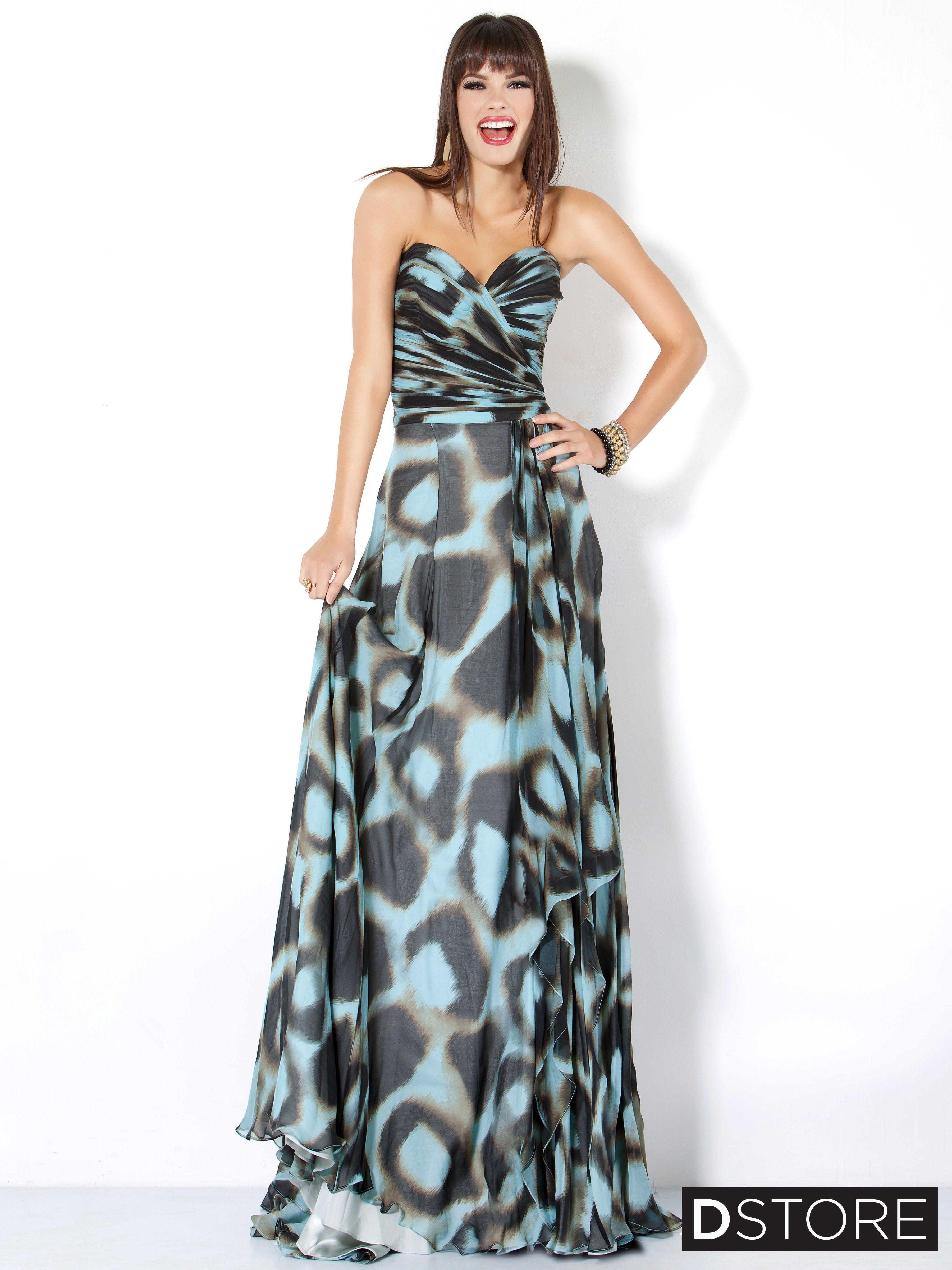 Vestido estampado vestidos pinterest elegant gown fashion