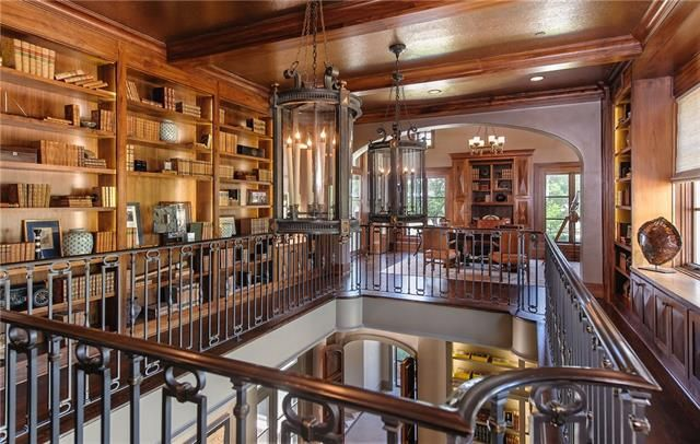 Three-Level Estate on Elm Hollow Drive in Dallas.