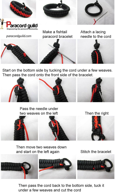 Stitched Paracord Bracelet With Images Paracord Bracelets